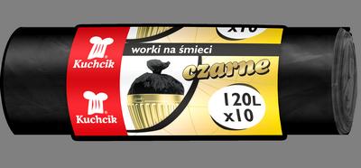 Worki HDPE 120L, 10 szt.